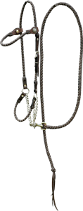 Plaited Halter and Lead